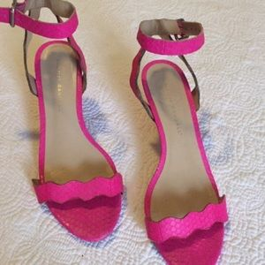 Loeffler Randall Emi pink sandals Size 7.5